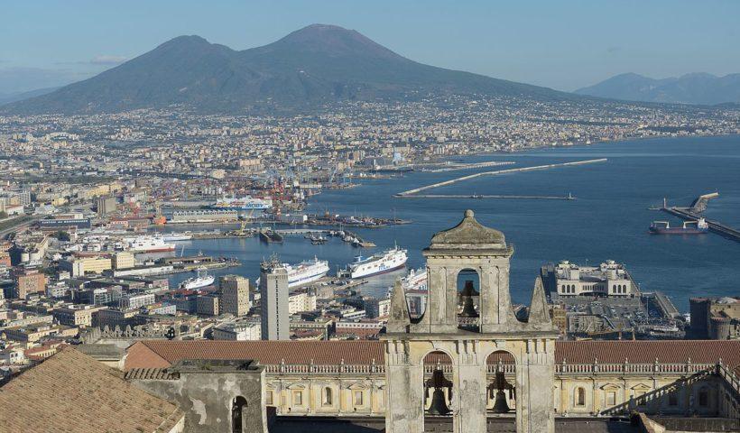 Una veduta di Napoli (foto dal web)