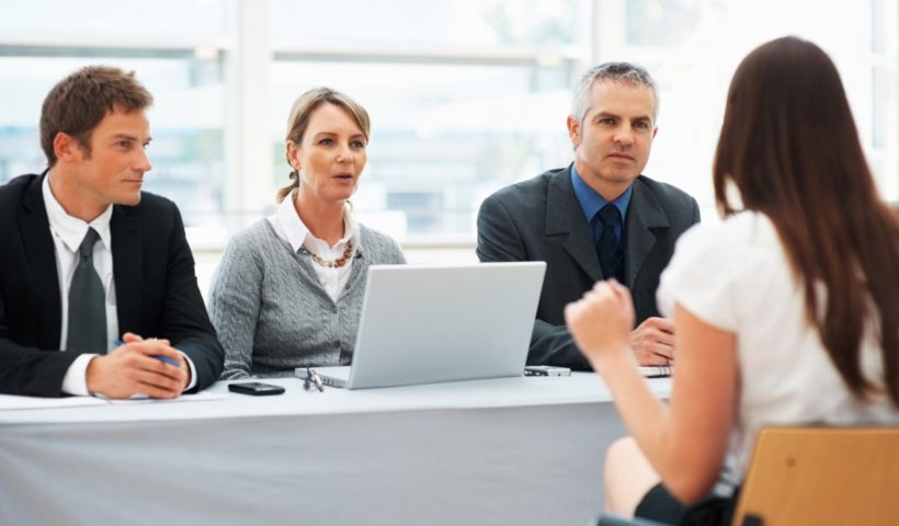 Un tipico colloquio di lavoro (foto dal web)