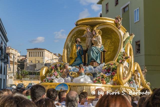 La processione dell'Immacolata (foto dal web)