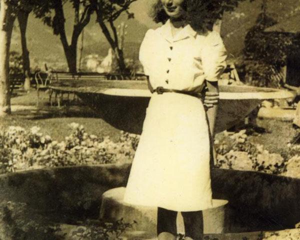 Liliana Segre nel 1943