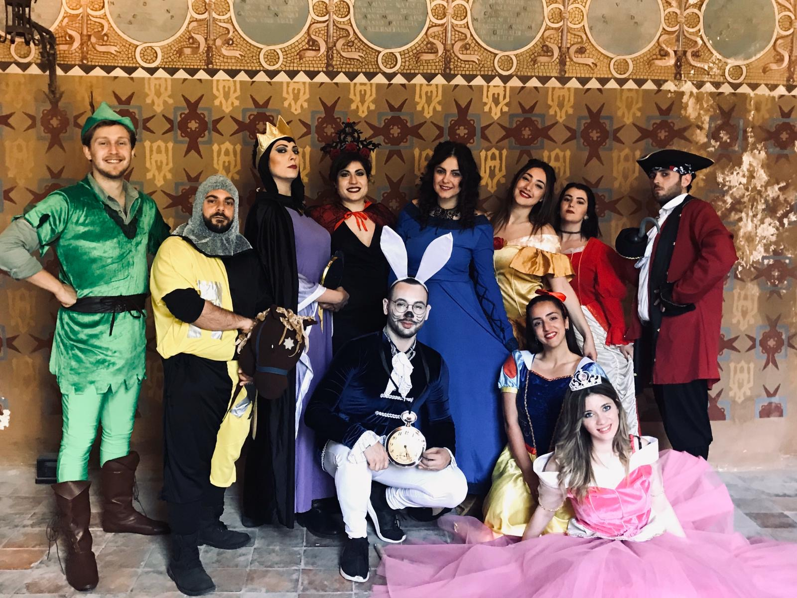 Carnevale in Villa D'Ayala