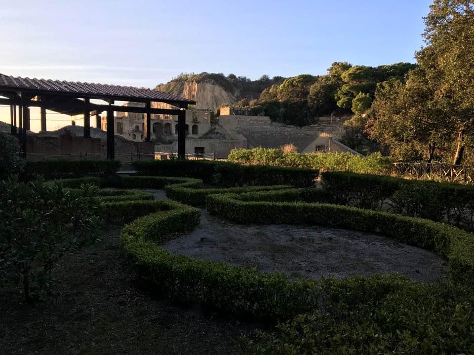 Un esempio della grandezza della villa di Publio Vedio Pollione.